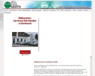 Website Autohaus Gerth