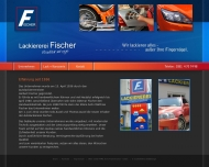 Website Autolackiererei Fischer