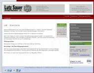 Website Sauer Lutz Baubetreuung