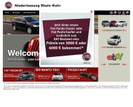 Website Fiat Automobil Vertriebs