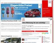 Bild Webseite Autohaus Rosenbaum Wedel