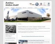 Bild Webseite Schülein Autohaus Schopfloch