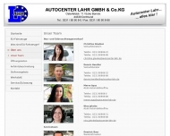 Website Autocenter Lahr