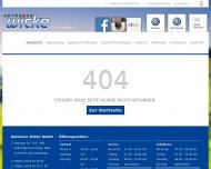 Bild Webseite Autohaus Wicke Bochum