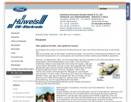 Website Ford Hüwels