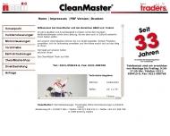 Bild Webseite CleanMaster Zentralstaubsauger Torantriebe & Zubehör Köln