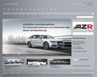 Bild Webseite Audi-Zentrum Reutlingen, Autohaus Heusel Reutlingen