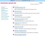 Bild Webseite Autohaus Goeke Dortmund