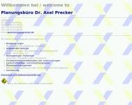 Bild Planungsbüro Dr. Axel Precker