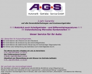 Bild Webseite AGS Automatik-Getriebe Berlin
