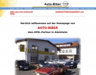 Website Biber KFZ-Werkstatt
