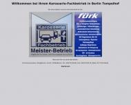 Bild Webseite Fürk Walter Karosseriebau Berlin