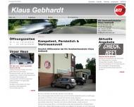 Bild Gebhardt Klaus