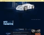Website KFZ Hermanns in Aachen - Reifen, Felgen, Autowerkstatt
