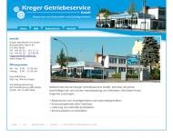 Bild Webseite Kreger Getriebeservice Berlin