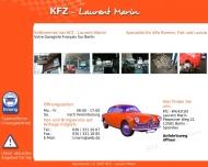Bild Webseite Auto-Werkstatt L. MARIN Berlin
