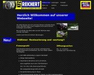 Bild Webseite KFZ Reichert UG Wuppertal