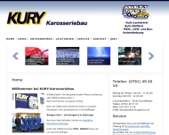 Autolackiererei und Karosseriebau Kury aus Freiburg