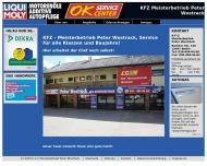 Bild Webseite Wostrack Peter KfZMech.Mstr. Berlin