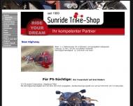 Bild Webseite Trike-Shop-Vermietung Frey Ilshofen