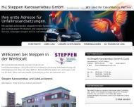 H-J Steppen Karosseriebau GmbH Co.KG - Willkomen bei Steppen in der Werkstatt