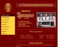 Bild Braune Bäckerei