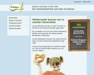 Website Bäckerei Richard Eichinger & Sohn