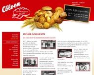 Website Derksen Klaus Bäckerei