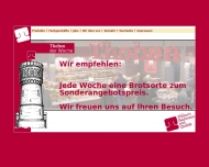 Bild Webseite Thoben's Backwaren Inh. Lutz Thoben Zentrale Berlin