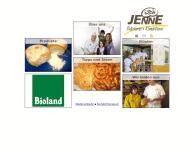 Bild Webseite Bäckerei Jenne Endingen am Kaiserstuhl