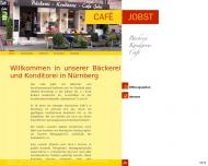Bild Webseite Café JOBST Nürnberg
