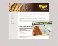 Bild Webseite Nelles Bäckerei Köln