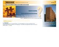 Bild Webseite TREUHAUS Immobilien und Hausverwaltung Frankfurt