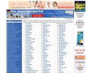 Website Das Anzeigenportal