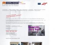 Bild Webseite Herrlinger München