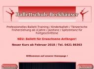 Bild Beckhäuser Annette Ballettschule