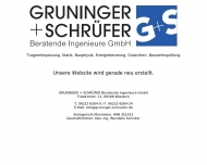 Bild Gruninger + Schrüfer Beratende Ingenieure GmbH