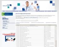 Website Zeitarbeit / Arbeitsvermittlung kopp personal partner