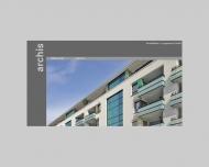 Bild Webseite archis Architekten + Ingenieure Karlsruhe