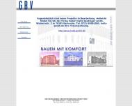 Bild Webseite GBV Bauplanung  und Bauträgerges. Karlsruhe