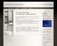 Bild Webseite Planwerk Karlsruhe Karlsruhe