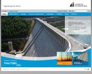 Bild Webseite Lahmeyer München, Ingenieurgesellschaft München