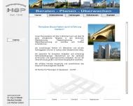 Website Ingenieurgemeinschaft Dr. Ing. Otto Höllerer, Schäfer Manfred & Partner