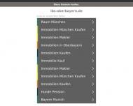 Bild Webseite LBS Bayerische Landesbausparkasse Beratungsstelle Dachau