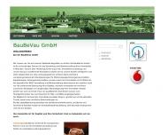 Bild Webseite BauBeVau Baubetreuung und -verwaltung München
