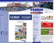 Bild Webseite Müller G.W. Flensburg