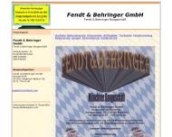 Website Fendt & Behringer