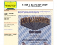Bild Webseite Fendt & Behringer München