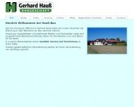 Bild Webseite Hauß Gerhard Rheinau