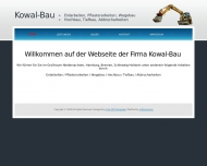 Bild Webseite Kowal Hans Maurermeister Hamburg
